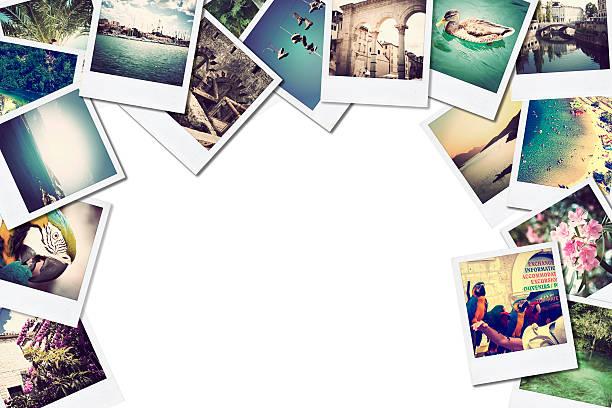 monte de fotografias, com espaço para seu logotipo ou texto. - montagem - fotografias e filmes do acervo