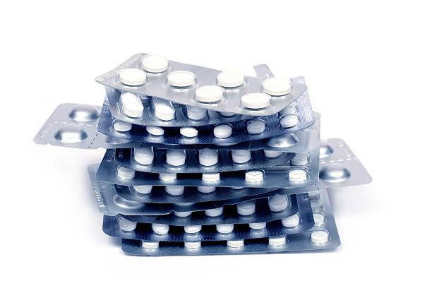 Haufen von Tabletten – Foto