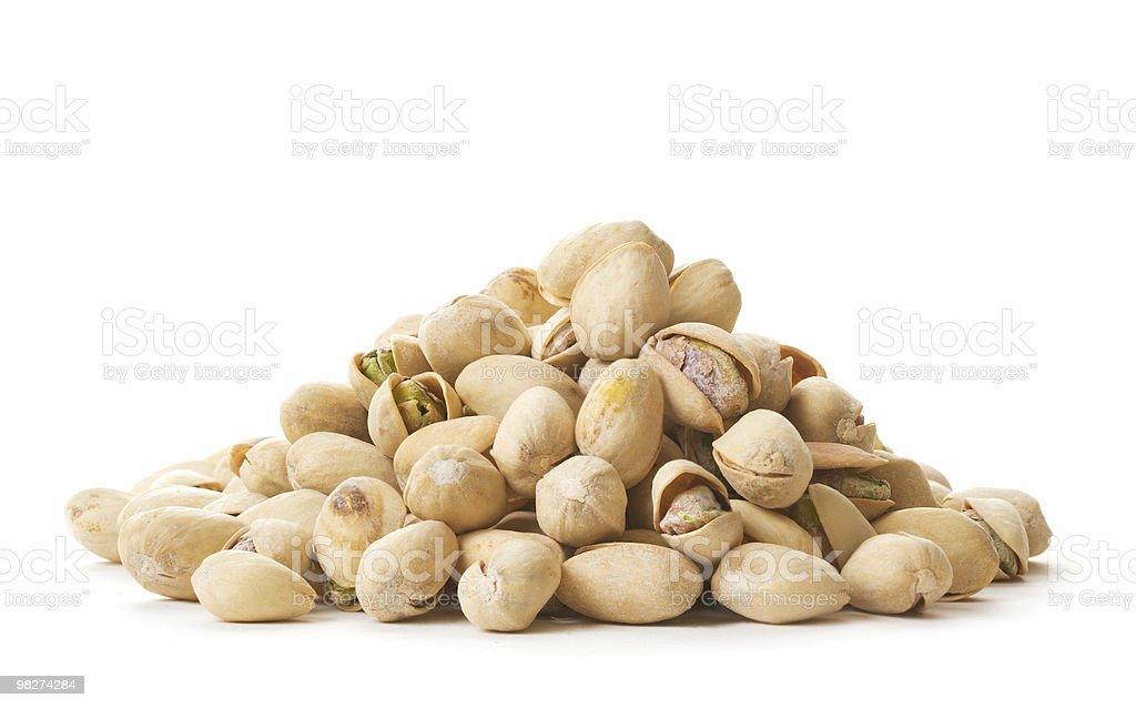 Pila di pistacchi foto stock royalty-free