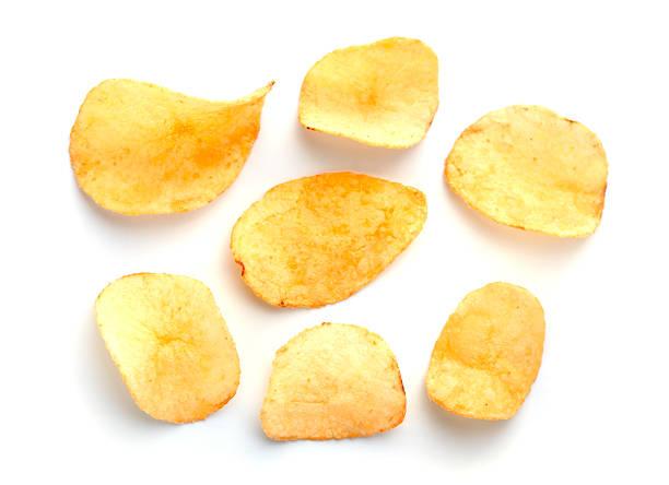 Haufen von chips – Foto