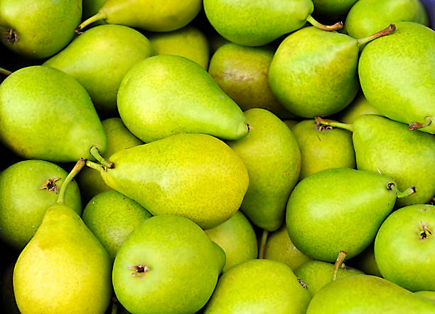 verde pears - pera foto e immagini stock
