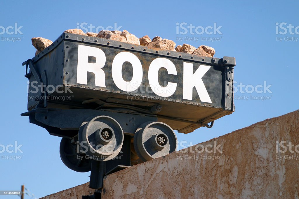 Pile of rock royalty-free stock photo