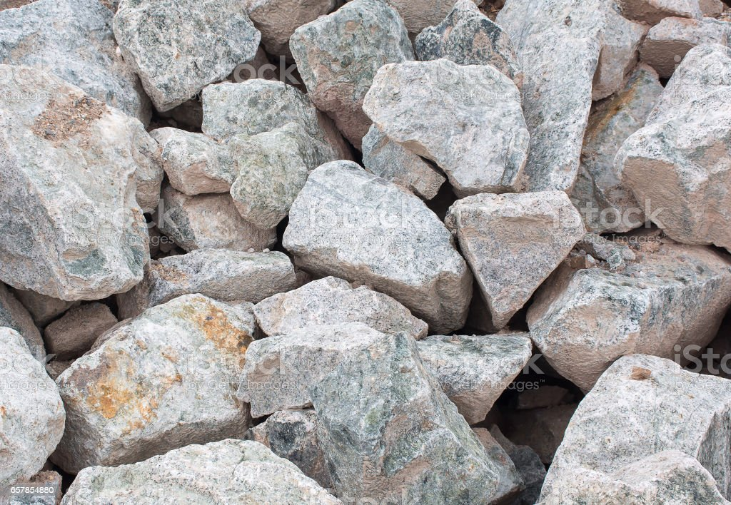 Pile of  Rock stones. Abstract natural background texture stock photo