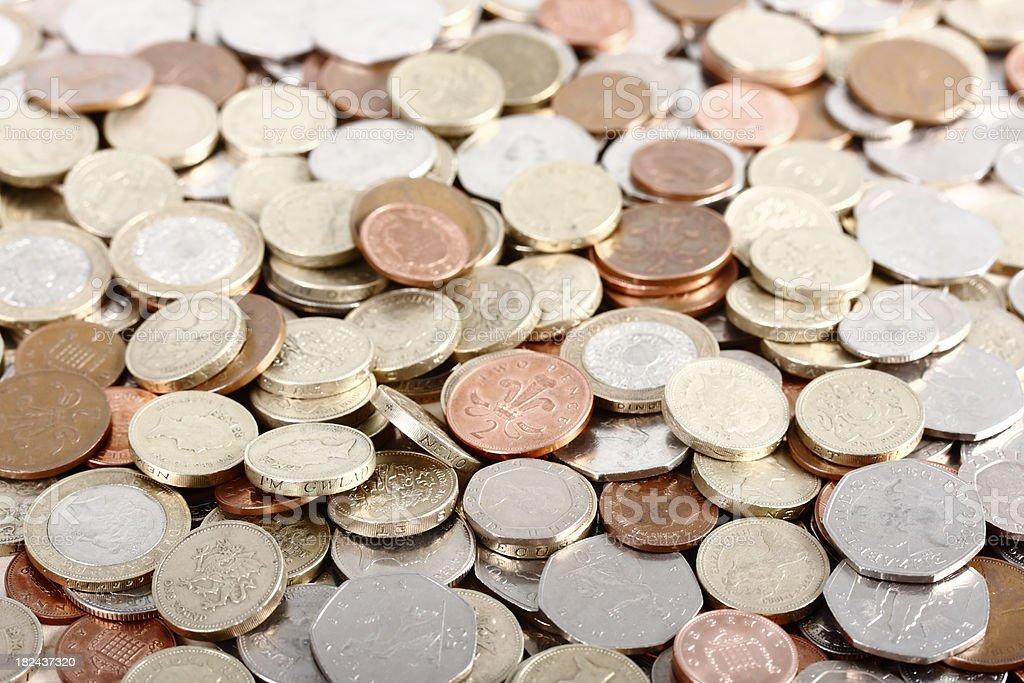 Pile of Savings royalty-free stock photo