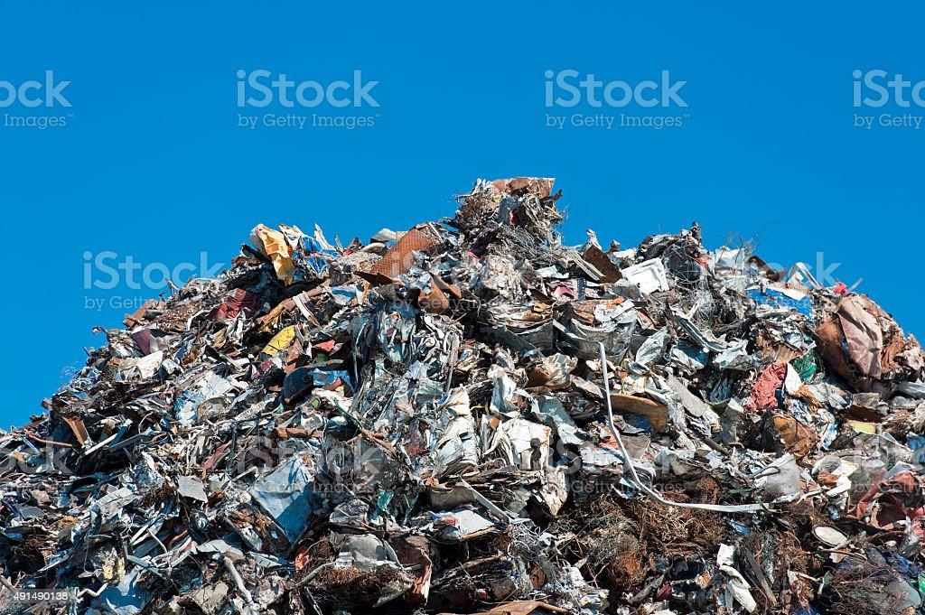 Montón de chatarra - foto de stock