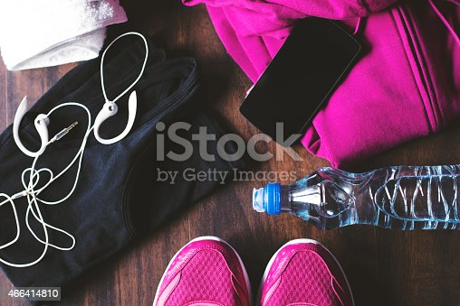 istock A pile of sports equipment on the floor 466414810