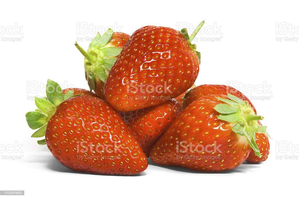 Pile of Strawberries royalty-free stock photo