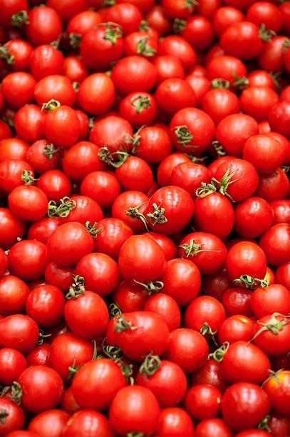 パイルのトマト ストックフォト