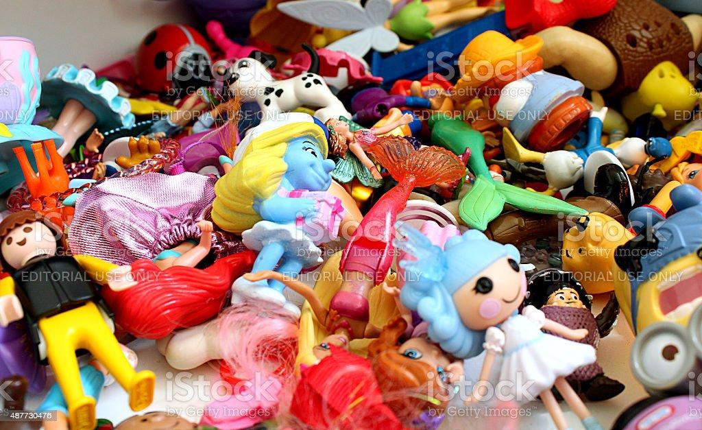 Pilha de brinquedos - foto de acervo