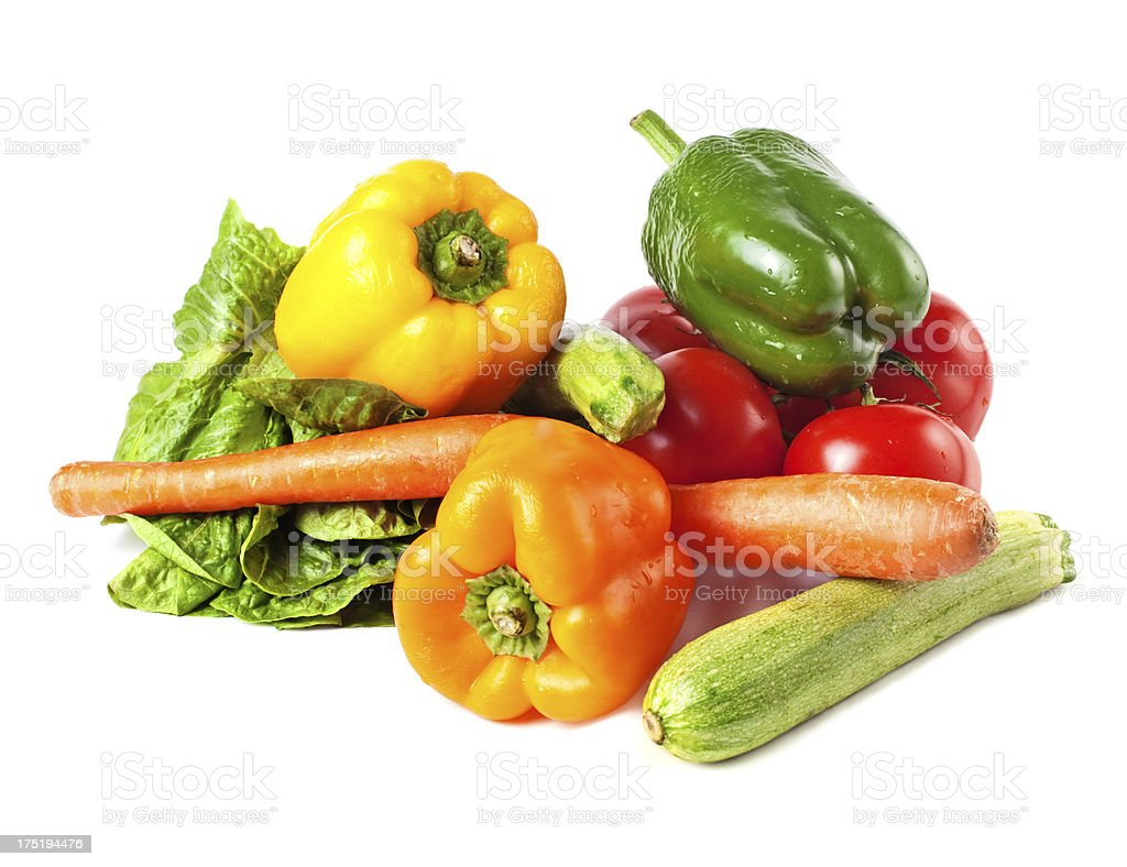 Pile of vegetables royalty-free stock photo