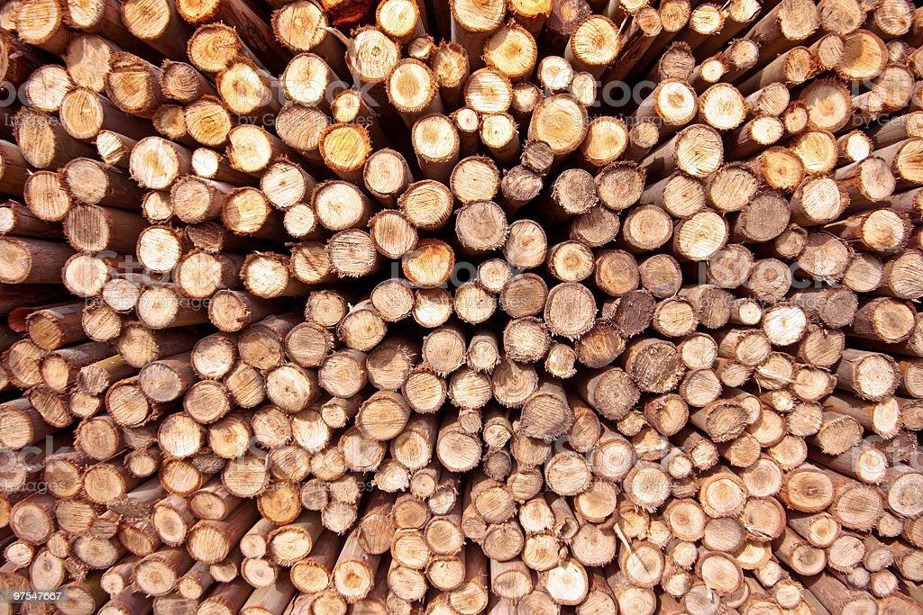 Pile de bois, peut être utilisé comme arrière-plan photo libre de droits