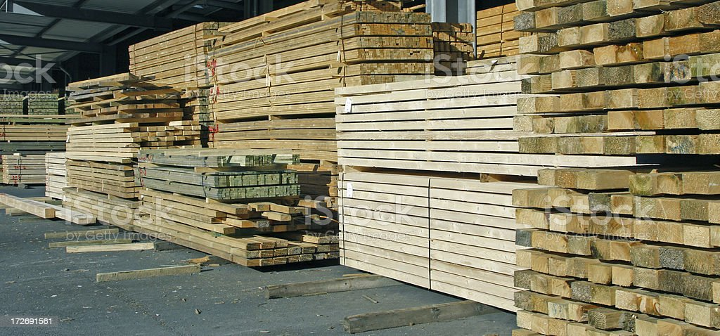 Pile of wood # 10 royalty-free stock photo
