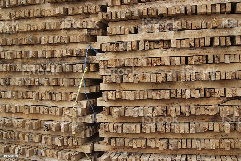 pile of wood. royalty-free stock photo