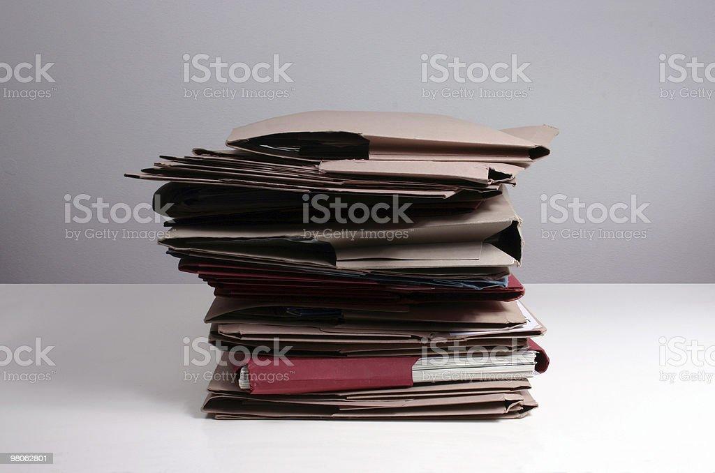 Pile royalty-free stock photo