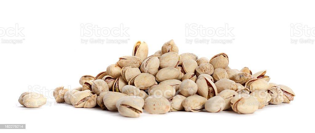 pile pistachios royalty-free stock photo