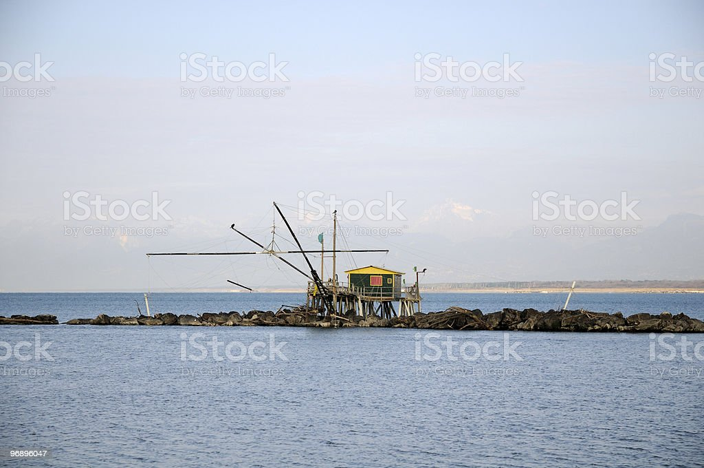 Pile structure royalty-free stock photo