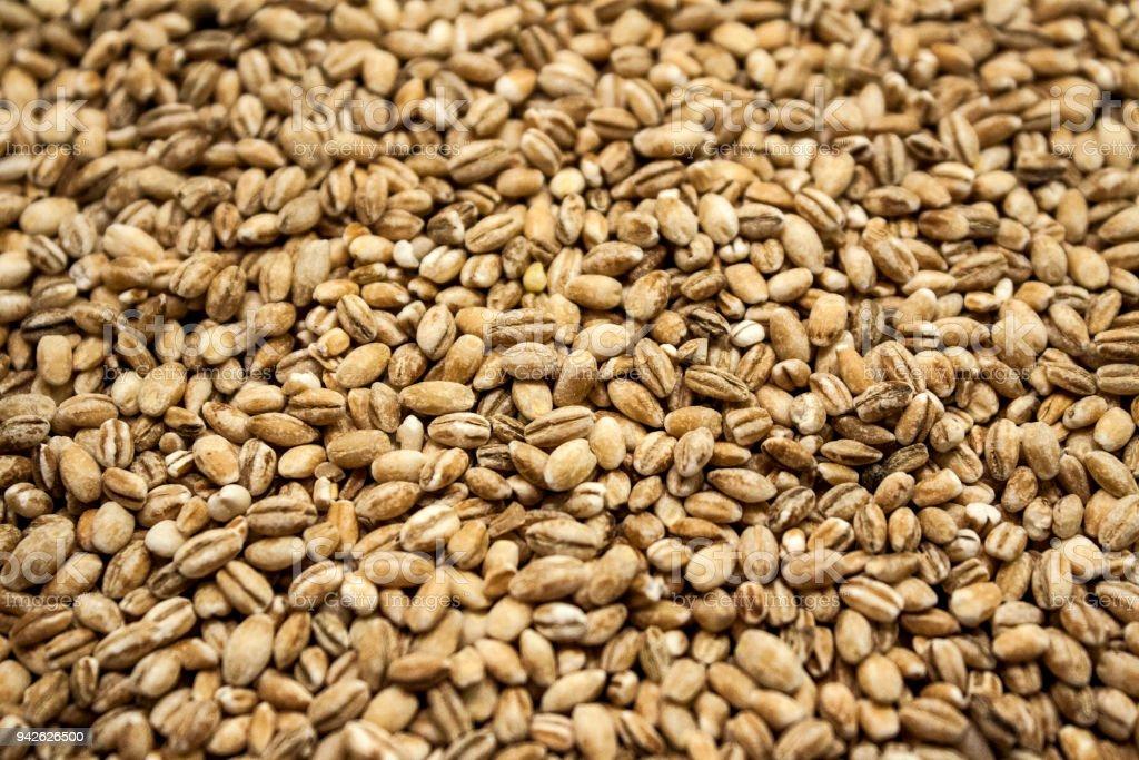 pile_of_pearl_barley – Foto