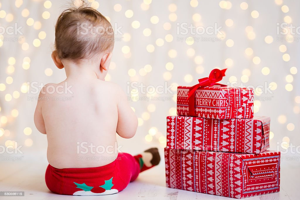 Christmas Festive Baby Tights