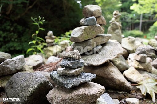 186803914 istock photo Piled stone - zen stone - Cologne 886275768