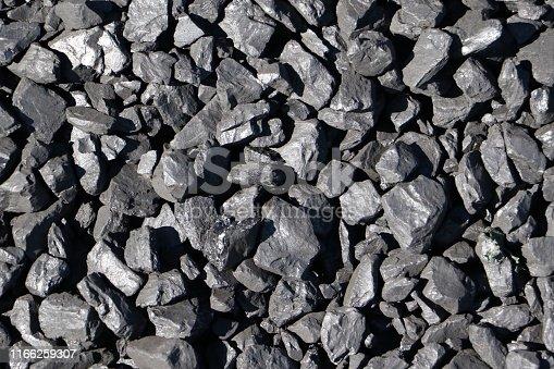 istock Piles of coal 1166259307