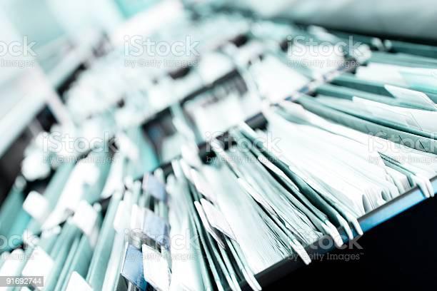 Stapel Von Dateien Stockfoto und mehr Bilder von Akte