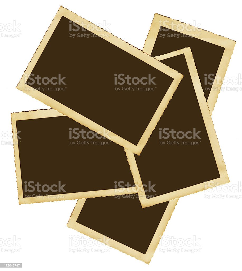 Piles of frames royalty-free stock photo