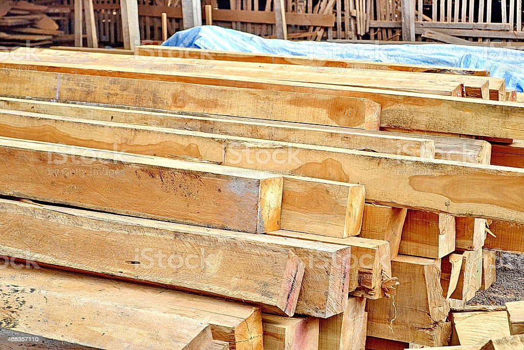 Piles of Wood royalty-free stock photo