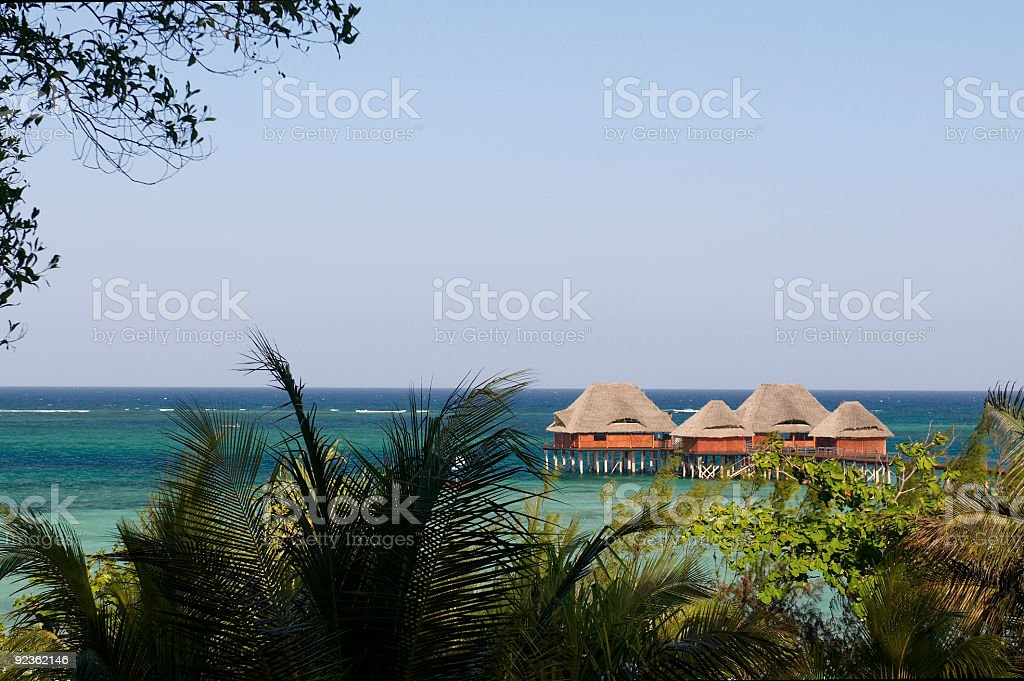 Pile`s villa royalty-free stock photo