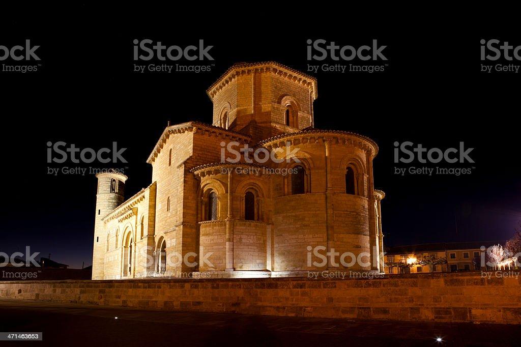Pilgrimage at Palencia stock photo