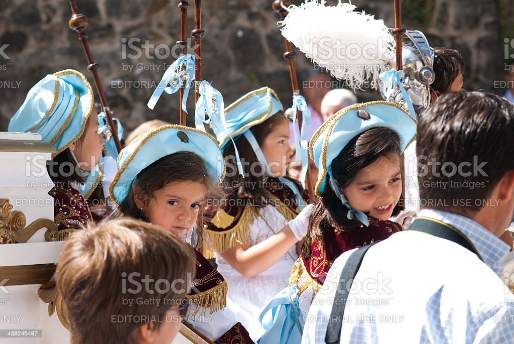 Pilgrims royalty-free stock photo