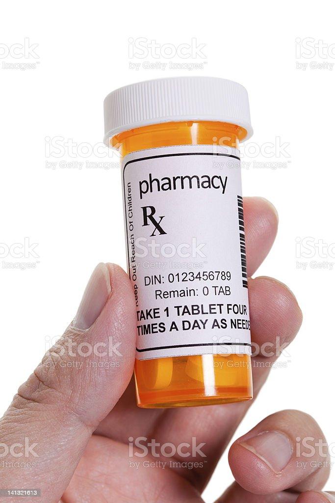 Pill Bottle stock photo