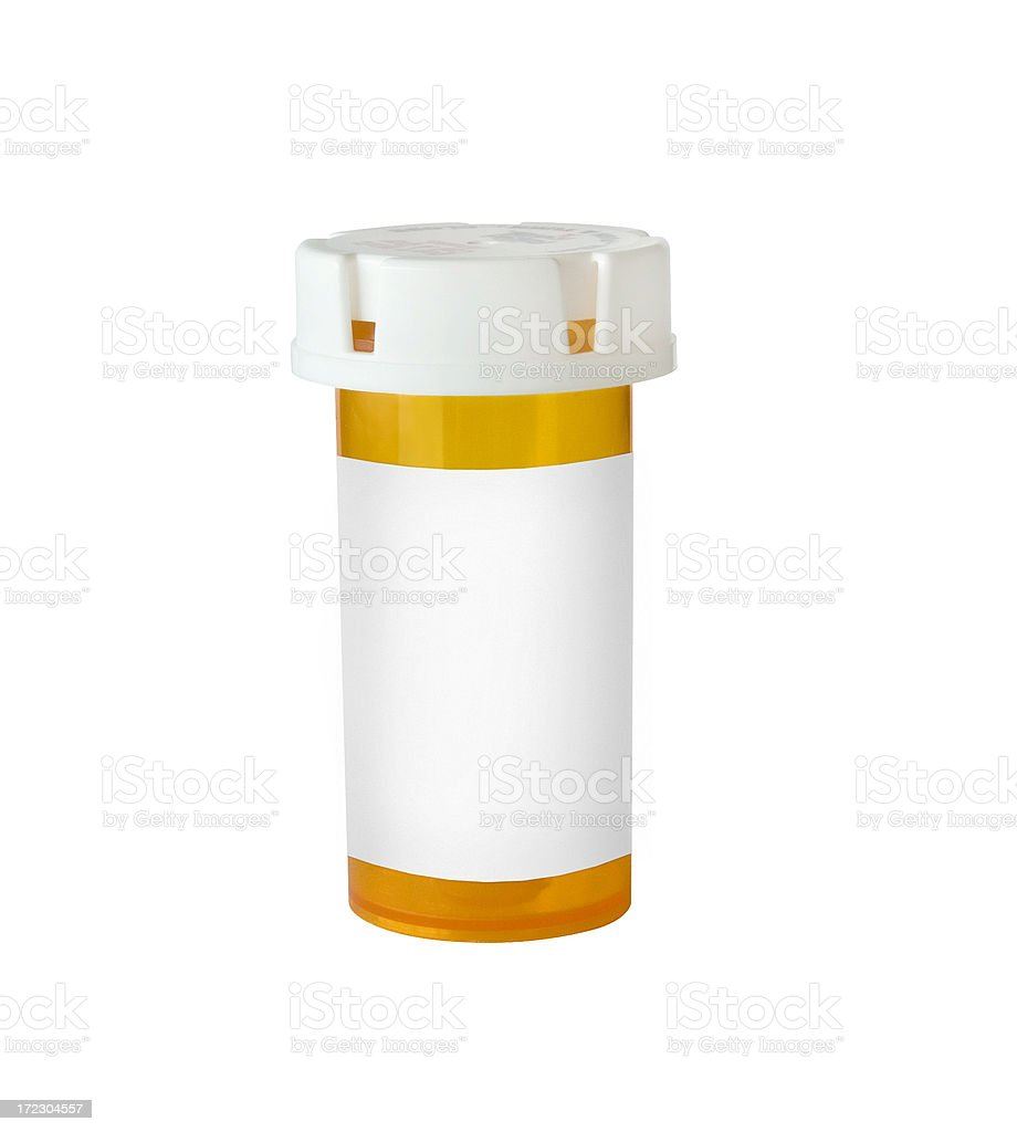 pill bottle royalty-free stock photo
