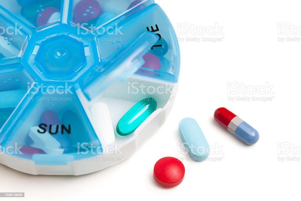 Pill Box royalty-free stock photo