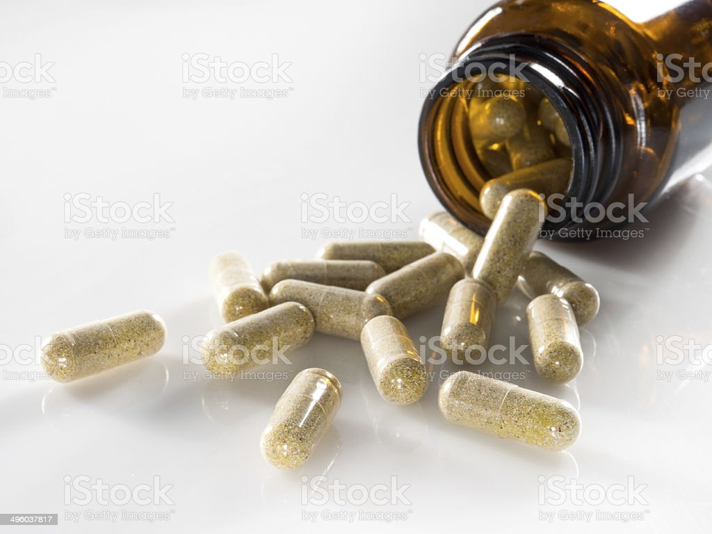 Pill Capsules stock photo