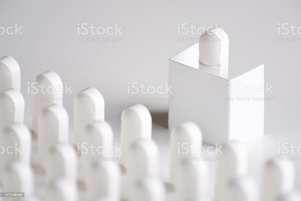 Pill Conference royalty-free stock photo