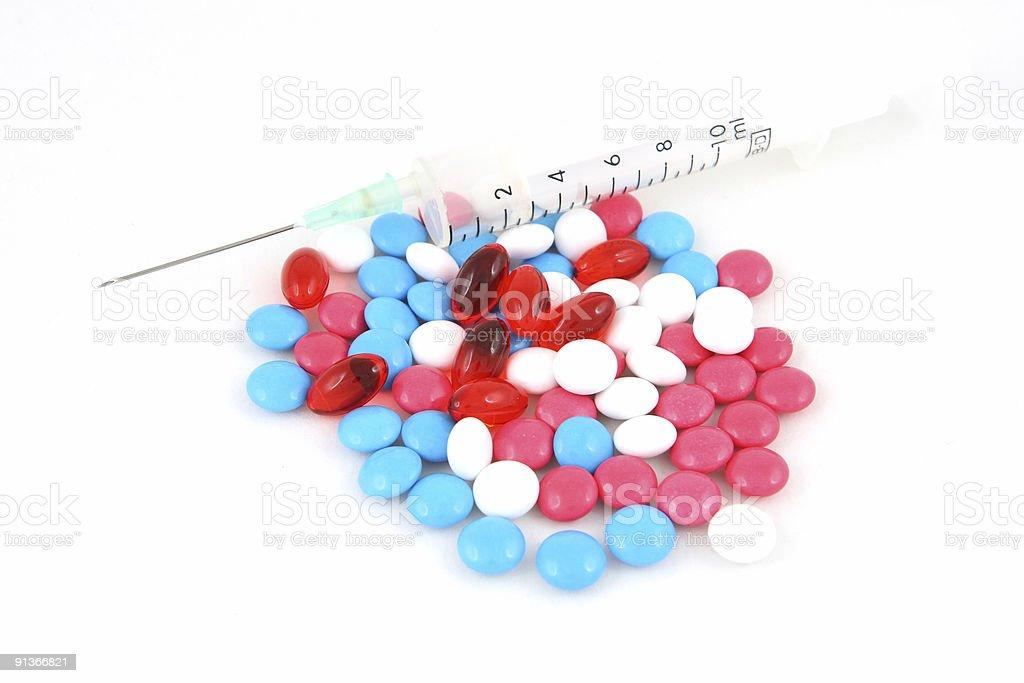 pill, medicine royalty-free stock photo