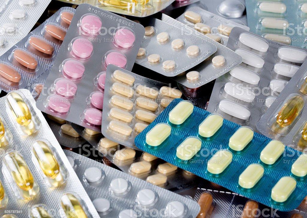 Píldora - foto de stock