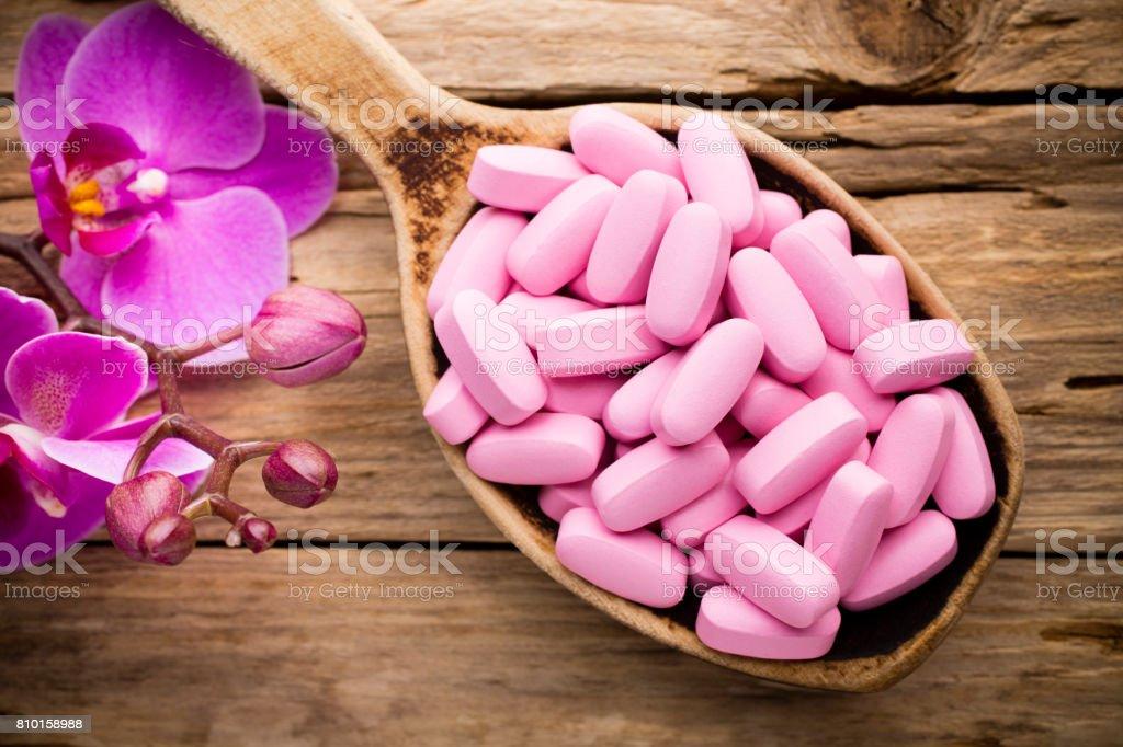 Pill. stock photo
