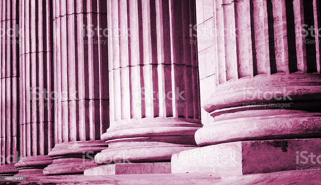Pillar close-up royalty-free stock photo