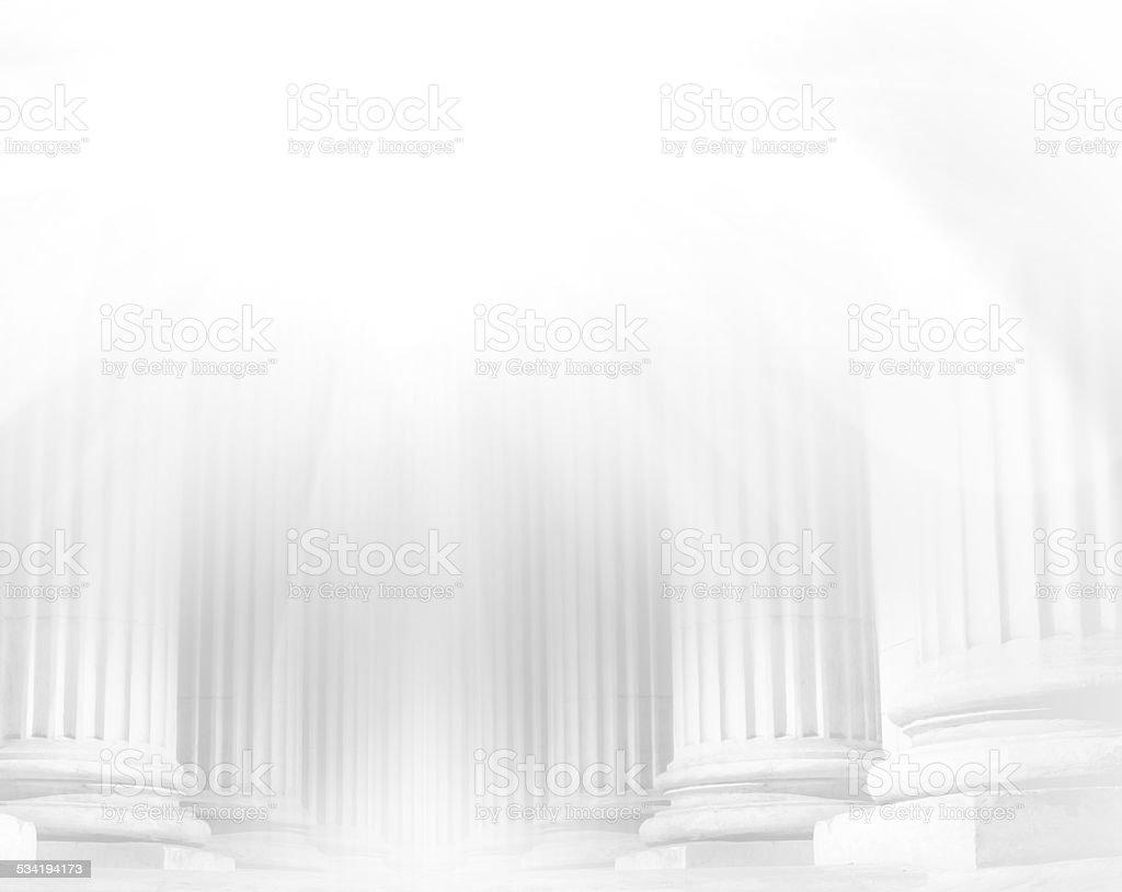 Pillar close-up stock photo