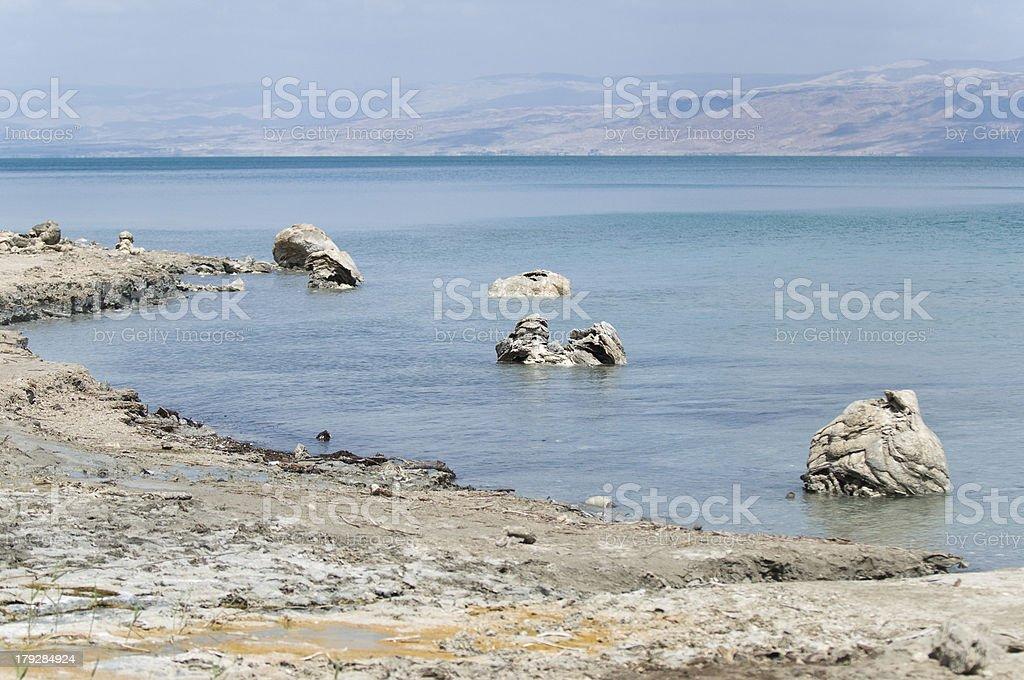 Pillar of Salt at the Dead sea, Israel royalty-free stock photo