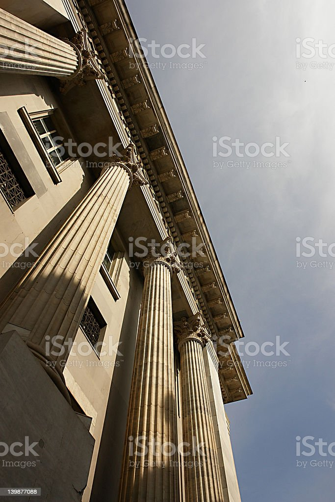 pillar royalty-free stock photo