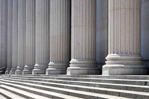 Pillars and steps