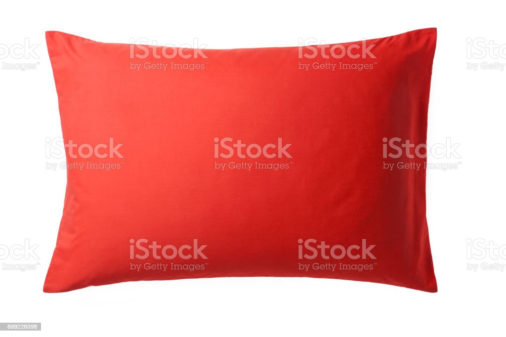 Pillow isolated on White Background. stock photo