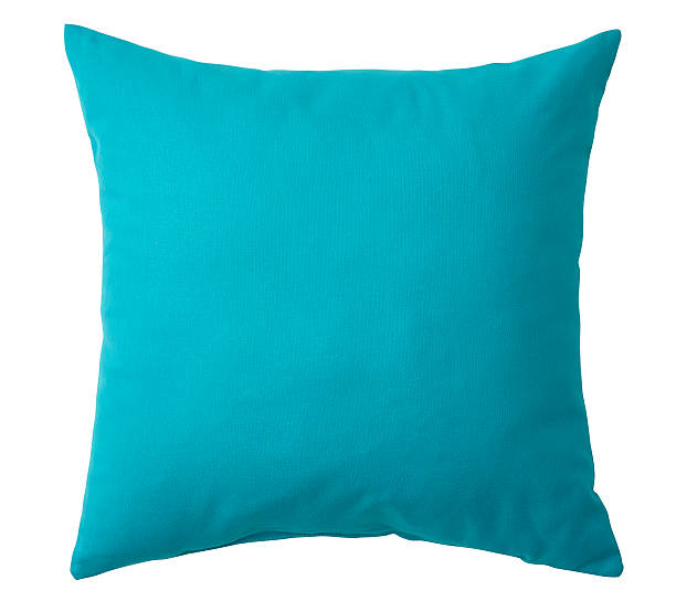Pillow isolated stock photo