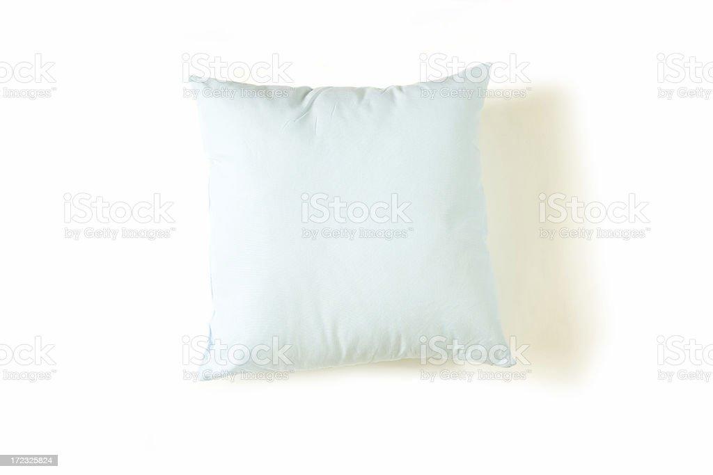 Pillow on White Background royalty-free stock photo