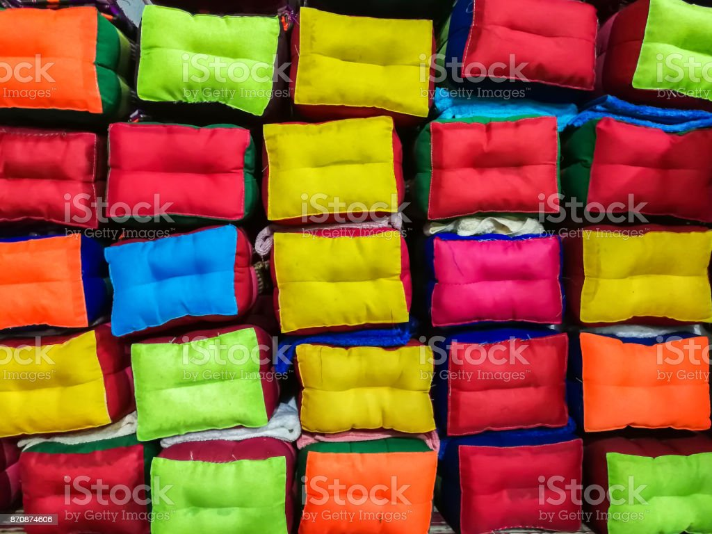 Pillow, Thailand, Luxury, Asia, Bed stock photo
