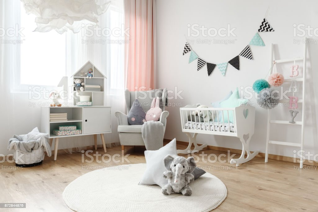 Pillows in various shapes royalty-free stock photo