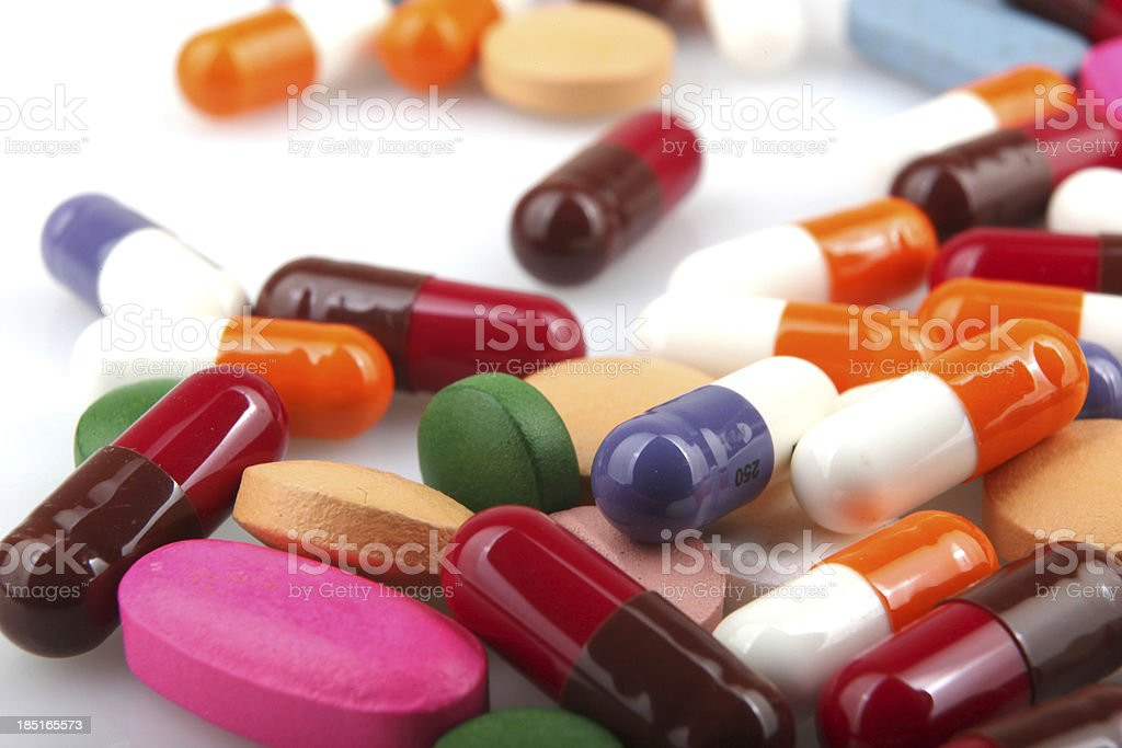 Tabletten, Kapseln – Foto