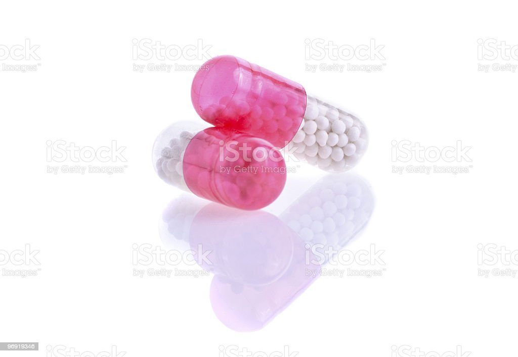 pills and tablets isolated on white royalty-free stock photo